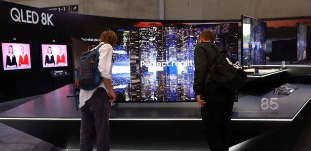 Nova televisão 8K da Samsung está à venda - Christian Mang/Reuters
