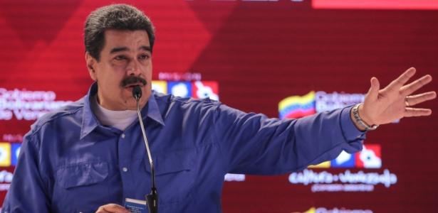 Maduro participa de evento em Caracas sobre acordo entre Cuba e Venezuela nesta 4ª - Miraflores Palace/Handout via Reuters