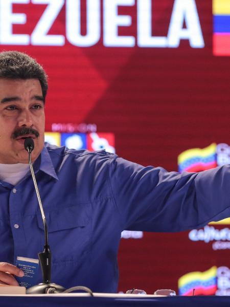 """Maduro advertiu que nas próximas horas tomará decisões de """"caráter político e diplomático"""" - Miraflores Palace/Handout via Reuters"""