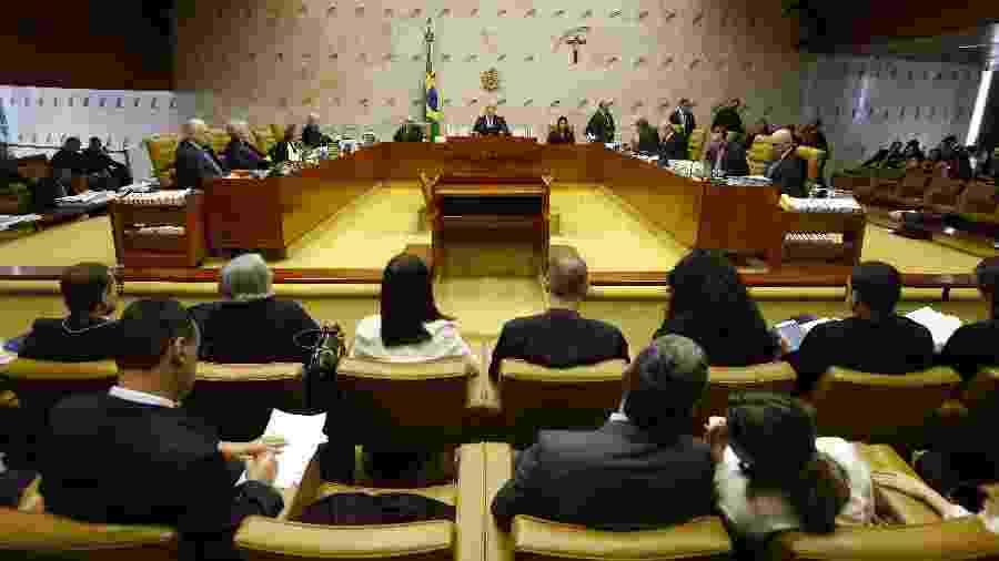 13.fev.2019 - STF discute criminalização de homofobia e transfobia - Dida Sampaio/Estadão Conteúdo
