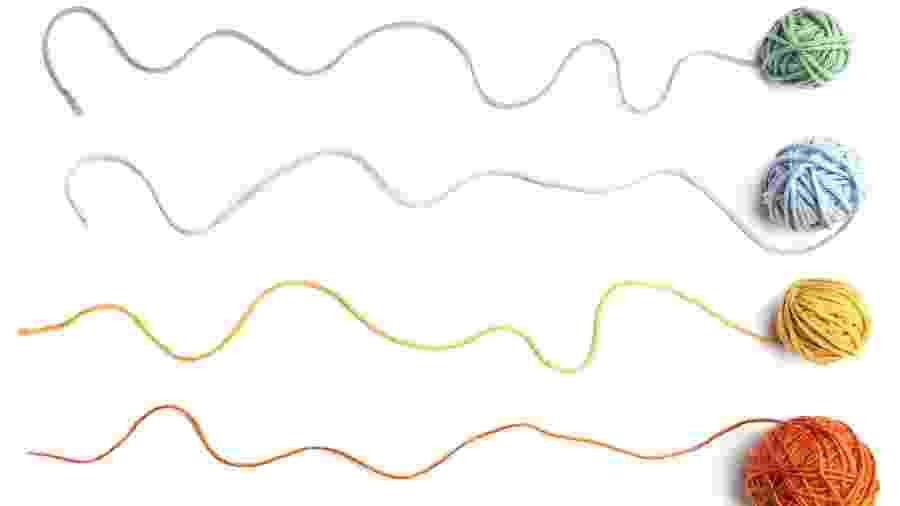 "A palavra thread significa ""fio"" e se tornou popular na internet - Getty Images/iStockphoto"