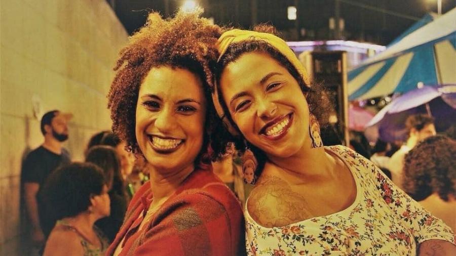 Marielle Franco e Talíria Petrone - Arquivo pessoal
