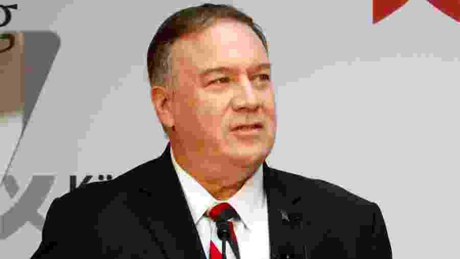O secretário de Estado americano, Mike Pompeo - HANNIBAL HANSCHKE / REUTERS