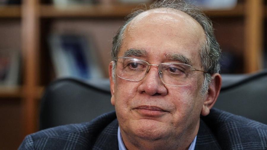 19.jun.2019 - O ministro Gilmar Mendes, do Supremo Tribunal Federal - Kleyton Amorim/UOL