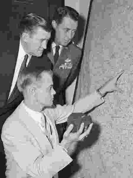A Força Aérea analisou o objeto e confirmou que se tratava de um meteorito - Getty Images - Getty Images