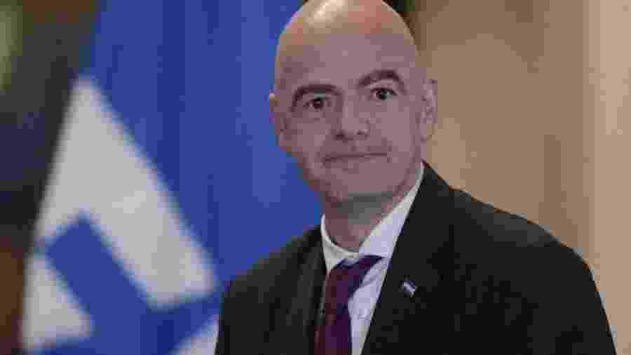 Gianni Infantino, presidente da FIFA - JORGE CABRERA