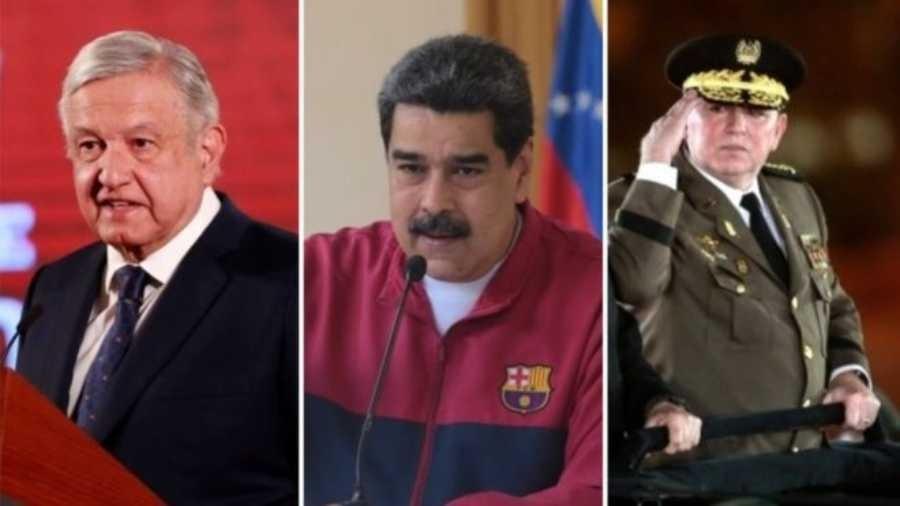 Os presidentes Daniel Ortega, Nicolás Maduro e Andrés Manuel López Obrador questionaram ameaça do novo coronavírus - Getty Images