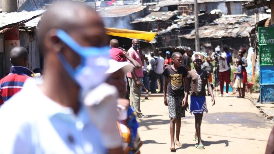 Diversos países africanos já registram casos da variante indiana do coronavírus - Billy Mutai/Anadolu Agency via Getty Images