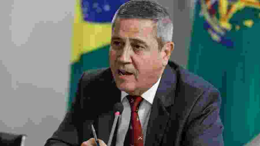 O ministro-chefe da Casa Civil, general Walter Braga Netto - Isac Nóbrega/PR
