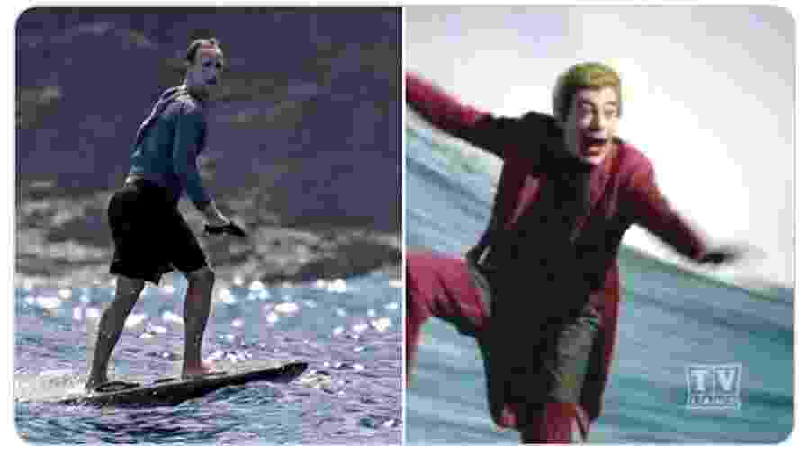 Mark Zuckerberg foi comparado ao Coringa, entre outros personagens - Reprodução/Twitter
