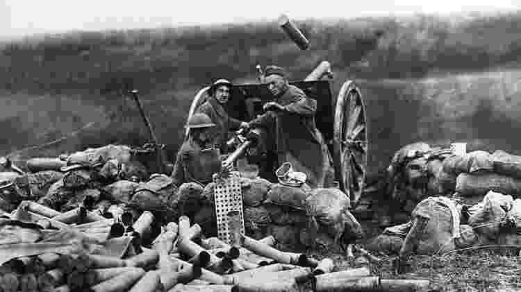 Toda rentabilidade obtida por causa da guerra era considerada 'extraordinária' e sujeita ao imposto - Getty Images - Getty Images