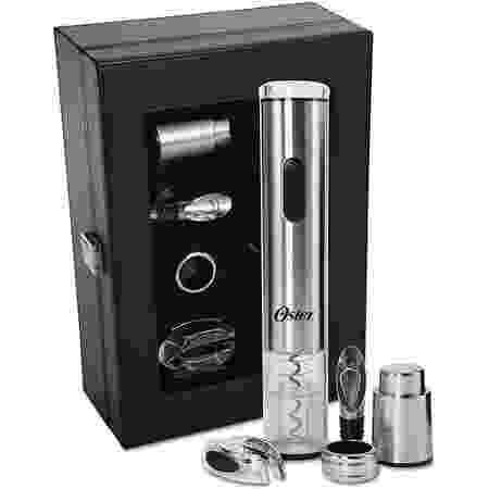 Kit para vinho Inspire, Inox - Oster - Reprodução/Amazon - Reprodução/Amazon