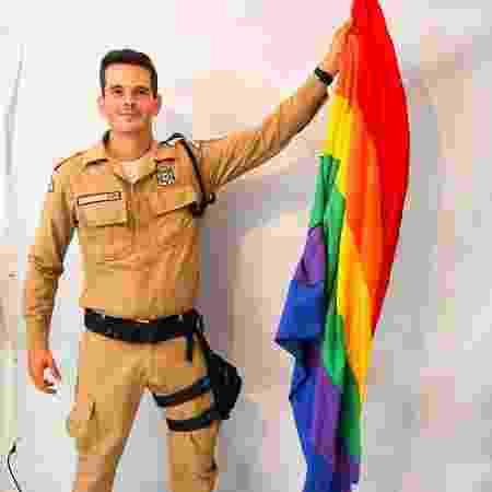 O guarda municipal Rodrigo Figueiredo, candidato do PDT à Câmara do Rio - Reprodução/ Instagram