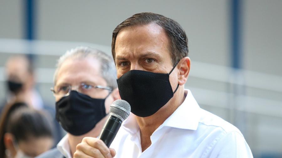 Para Doria, falta responsabilidade de Bolsonaro no combate à Covid-19 - Sergio Andrade/Governo do Estado de São Paulo