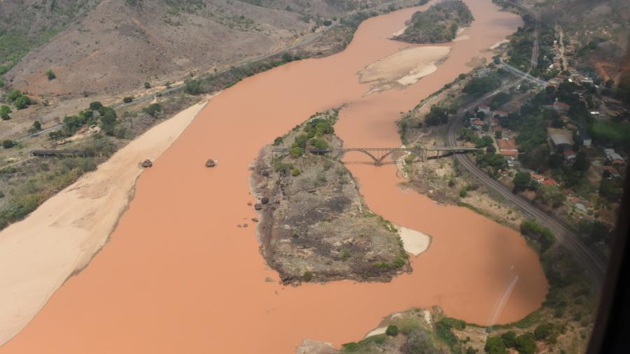 Mineradora Vale diz que o valor predestinado à compensação dos danos causados com o rompimento de barragem em Mariana (MG) já foi estipulado - Fred Loureiro/Secom-ES