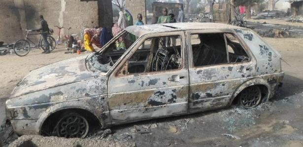 Uma testemunha afirmou ter visto os extremistas e ouvido gritos de crianças entre as vítimas, que foram queimadas vivas