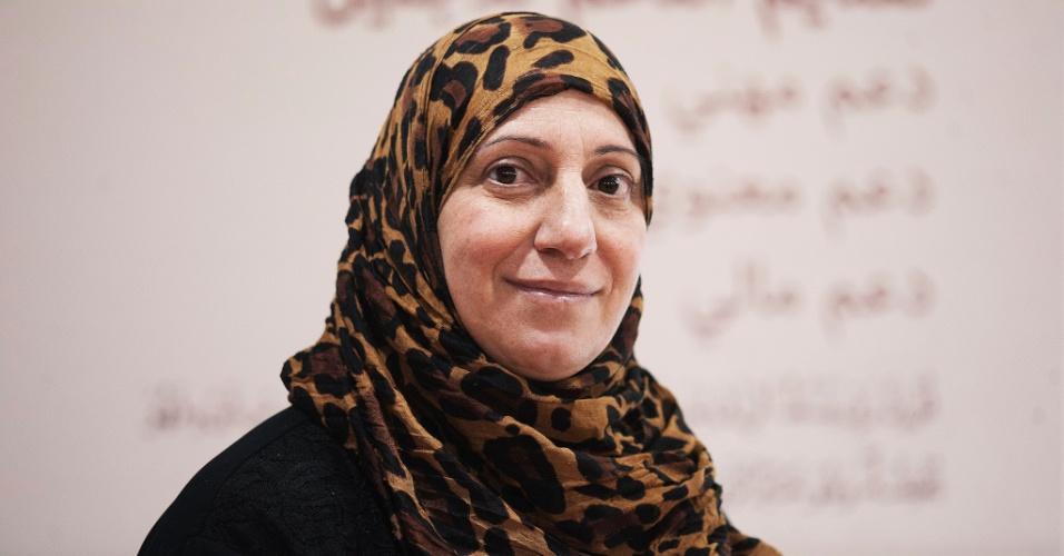 10.jun.2016 - Rwid Bakir, 50, morava em Damasco na Síria. Ela está no Brasil há aproximadamente 1 ano. Ela passa seu primeiro Ramadã em São Paulo