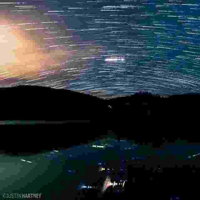13.jul.2016 - Justin Hartney é um estudante norte-americano de publicidade e negócios da Universidade de Oregon apaixonado pela fotografia. Para fazer seus registros ele costuma viajar pelo Estado capturando detalhes da natureza. Essa imagem foi feita em Noti, no Oregon - Reprodução/Instagram/@justinhartney