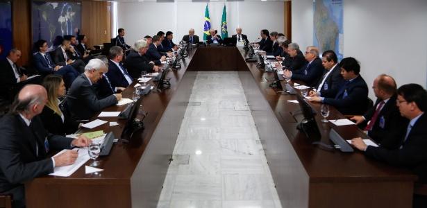 Temer tem liberado verba e feito maratonas de encontros com diversos parlamentares enquanto enfrenta uma denúncia da PGR e tenta aprovar reformas