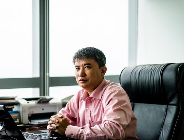 Tran Duc Anh Son, historiador e vice-diretor de um instituto de pesquisa estatal, em Danang, no Vietnã