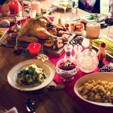 Natal; ceia; comida; refeição; nutrientes - Getty Images