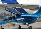A fábrica argentina que projetou alguns dos mais modernos aviões de guerra do mundo - e hoje está na berlinda - AFP