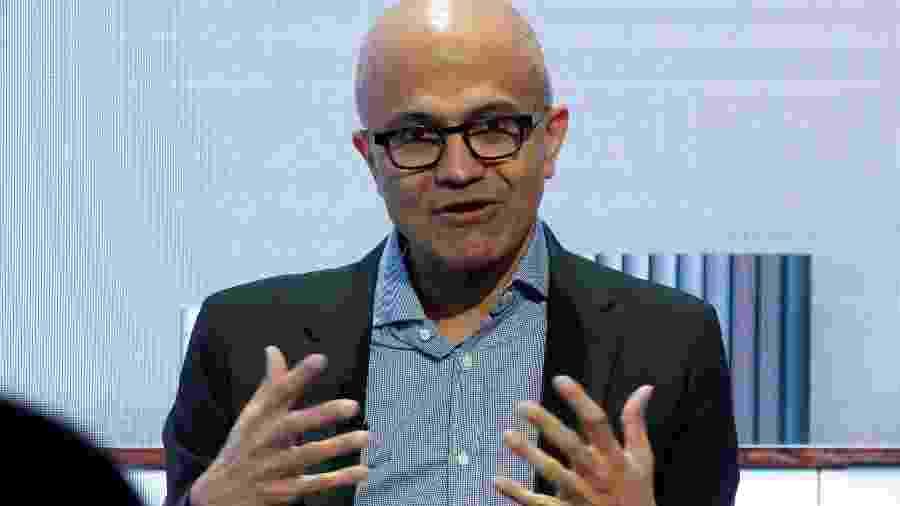 Satya Nadella, CEO da Microsoft - Arnd Wiegmann/Reuters