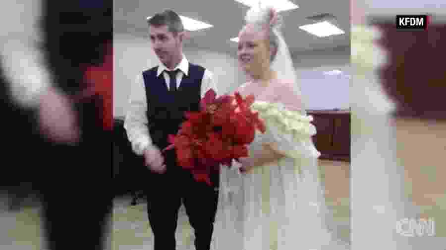 Harley Morgan e Rhiannon Boudreaux namoravam desde o ensino médio - Reprodução/CNN