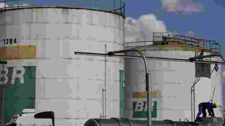 Tanque da Petrobras, a empresa está na lista de grandes poluidoras do Climate Accountability Institute - Reuters
