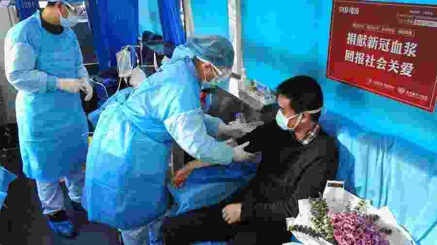 16.fev.2020 - Casos de mortes por covid-19 saltaram para 1.770 na China  - STR/AFP