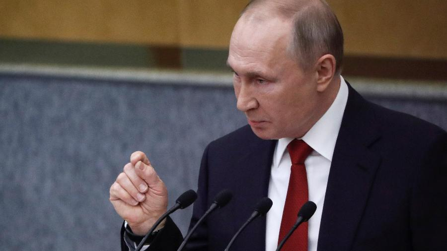 Vladimir Putin, presidente da Rússia - Evgenia Novozhenina/Reuters