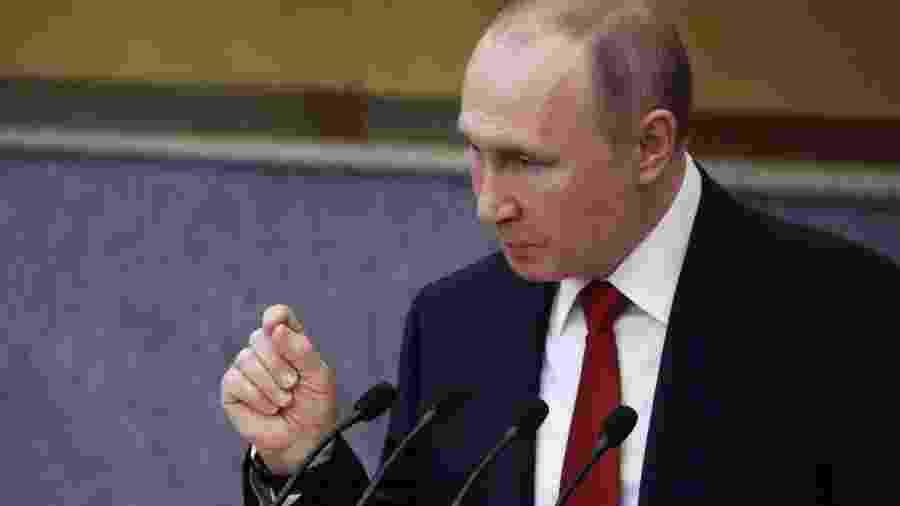 A revisão constitucional facilitará a permanência de Putin no poder até 2034 - Evgenia Novozhenina/Reuters