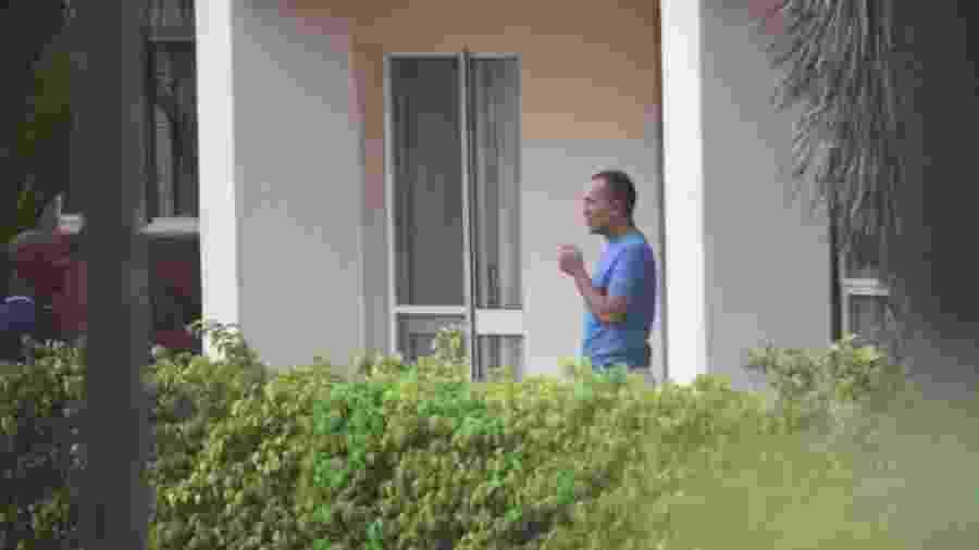 13.abr.2020 - Gilberto Aparecido dos Santos, o Fuminho, ao ser preso em Moçambique - Arquivo pessoal