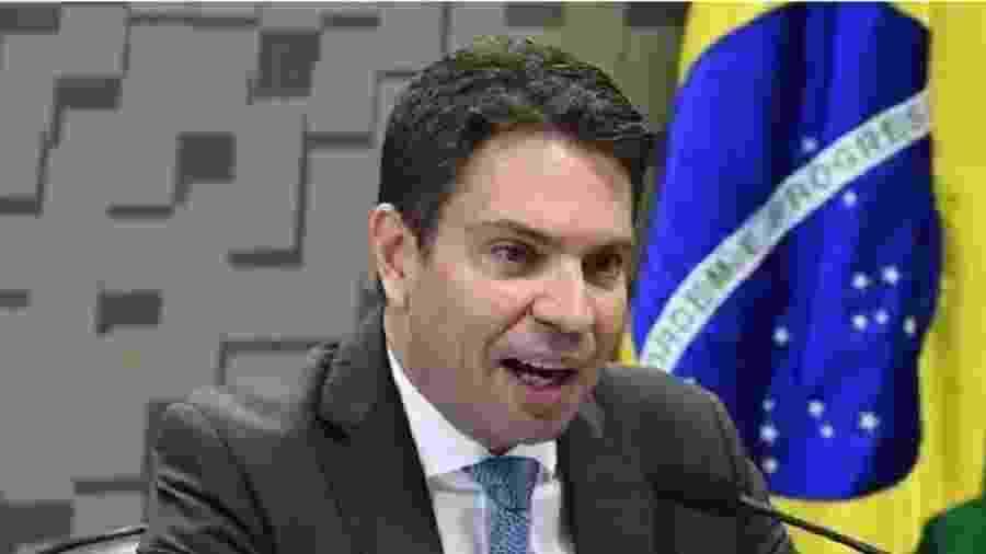 Delegado Alexandre Ramagem Rodrigues, o preferido de Bolsonaro e filhos para comandar a PF. Já era uma espécie de interventor da família na Abin - Foto: Agência Senado