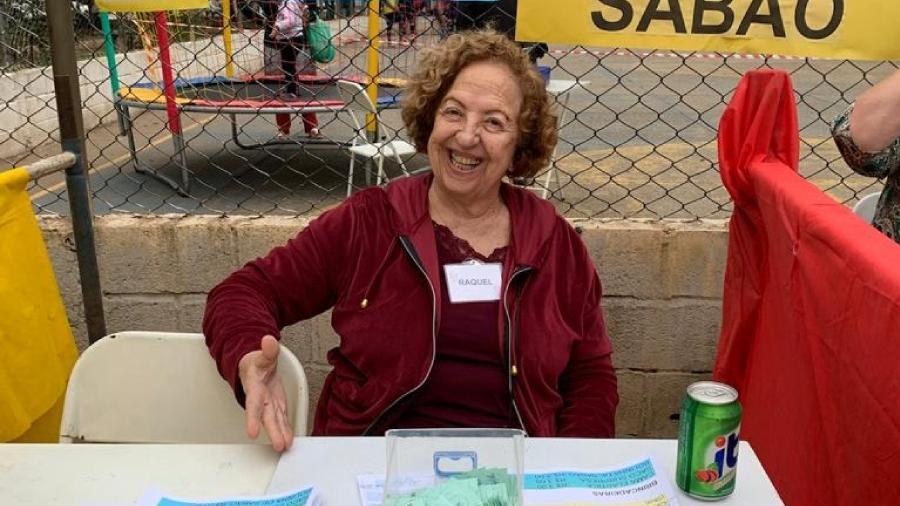 Raquel Bettoi, 76 anos, é síndica de um conjunto residencial do bairro do Belenzinho, em São Paulo-SP - Arquivo pessoal
