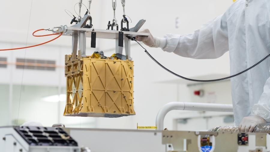 Instrumento Moxie foi acoplado ao Perseverance - NASA/JPL-Caltech