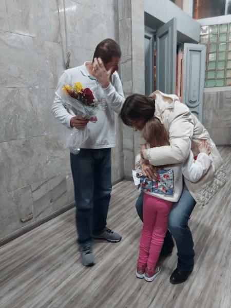 Vítima, uma assistente social de Caxias do Sul, já se reencontrou com a família - Divulgação/Polícia Civil do RS