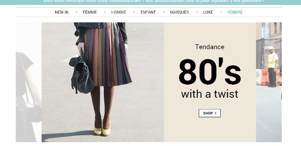 186ffb884 Brechó online: o videdressing.com é um dos sites que vende produtos de luxo  usados Imagem: Reprodução