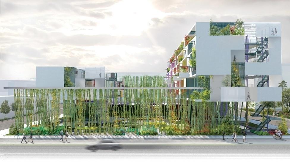 Na categoria Residencial o vencedor foi um projeto chamado Liaisions, na China, do escritório MOB Architects para a Huayan Cultural Investiment Co. O projeto visa criar uma coexistência harmoniosa entre a vida urbana e a natureza.