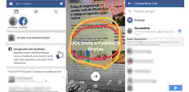 15.mar.2017 - Facebook Stories - Reprodução - Reprodução