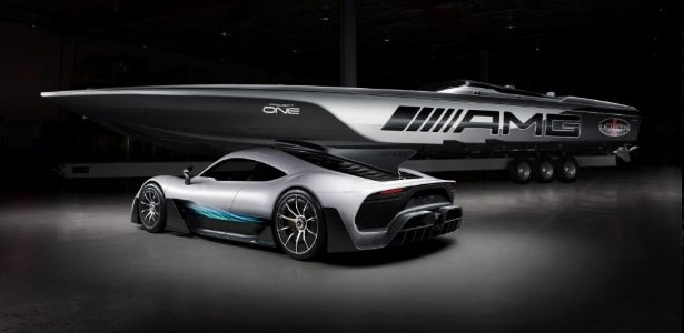 Lancha Cigarette Racing 515 Project One é inspirada em carro da Mercedes-AMG