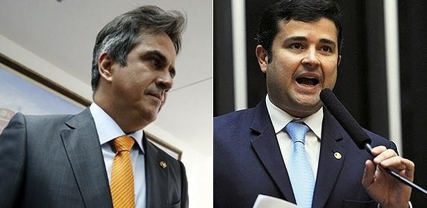 O senador Ciro Nogueira (à esq.) e o deputado Eduardo da Fonte são alvos da PF - Folhapress e Agência Câmara