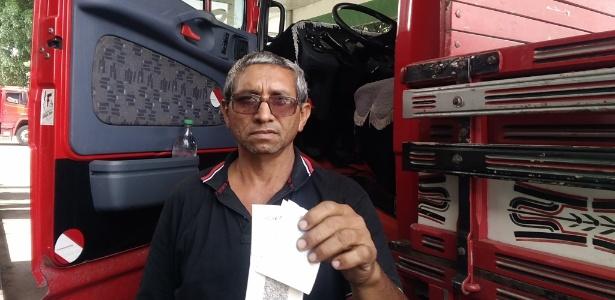 Reinaldo da Silva mostra quanto gastou de Teixeira de Freitas (BA) a São Paulo (SP)