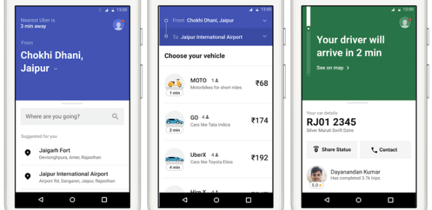 Novo app Uber Lite visa cidadãos de países em desenvolvimento