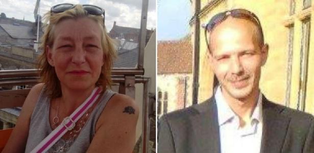 Dawn Sturgess e Charlie Rowley; segundo a polícia, nada no histórico do casal o aponta como possível alvo e ainda não se sabe como eles foram expostos à substância - Reprodução/Facebook via BBC