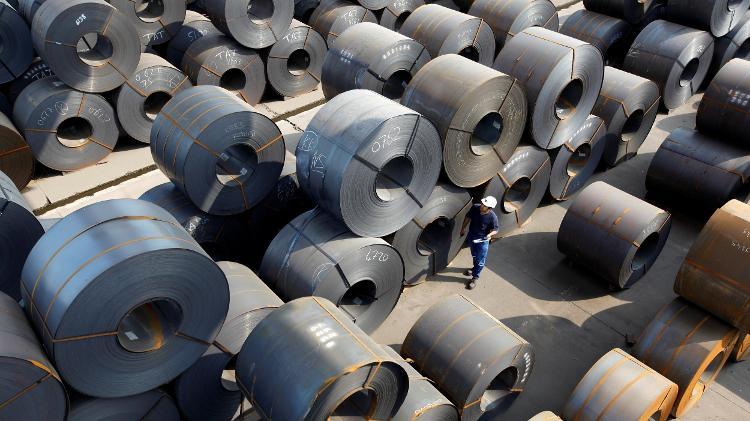 Bobinas de aço - Umit Bektas/Reuters - Umit Bektas/Reuters