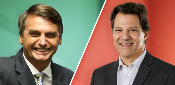 Resultado de imagem para Pesquisa Datafolha do 2º Turno: Bolsonaro, 59%; Haddad, 41%