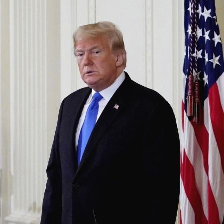7.nov.2018 - Presidente dos EUA, Donald Trump - Mandel NGAN / AFP