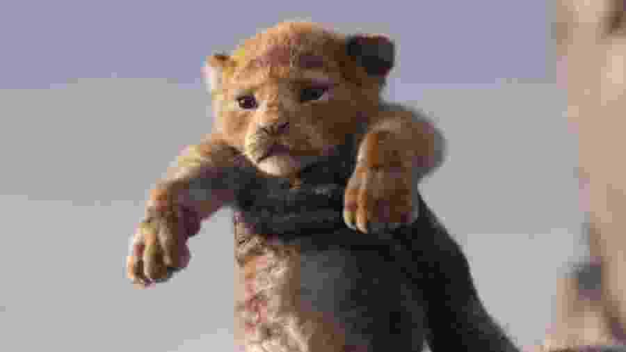 """Simba é apresentado em primeiro trailer de """"O Rei Leão"""" em live-action, previsto para 2019 - Reprodução"""