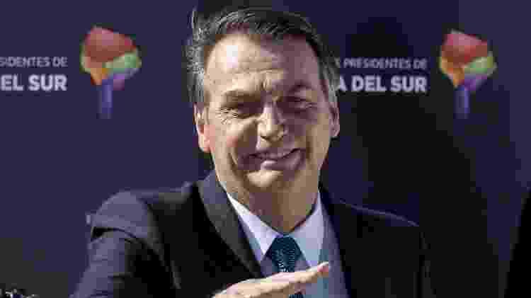 Bolsonaro participa no Chile - Martin Bernetti/AFP - Martin Bernetti/AFP